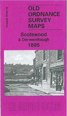 Scotswood and Derwenthaugh 1895: Tyneside Sheet 26 - Old Ordnance Survey Maps of Tyneside (Sheet map, folded)