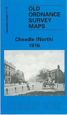 Cheadle (North) 1916: Lancashire Sheet 111.15 - Old O.S. Maps of Lancashire (Sheet map, folded)