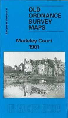 Madeley Court 1901: Shropshire Sheet 43.11 - Old O.S. Maps of Shropshire (Sheet map, folded)