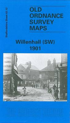 Willenhall (SW) 1901: Staffordshire Sheet 62.12 - Old O.S. Maps of Staffordshire (Sheet map, folded)