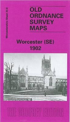 Worcester (SE) 1902: Worcestershire Sheet 33.08 - Old Ordnance Survey Maps of Worcestershire (Sheet map, folded)