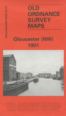 Gloucester (North West) 1901: Gloucestershire Sheet 25.14 - Old O.S. Maps of Gloucestershire (Sheet map, folded)