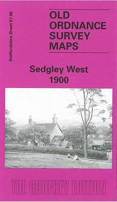 Sedgley West 1900: Staffordshire Sheet 67.06 - Old O.S. Maps of Staffordshire (Sheet map, folded)
