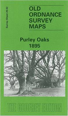 Purley Oaks 1895: Surrey Sheet 20.02 - Old Ordnance Survey Maps of Surrey (Sheet map, folded)