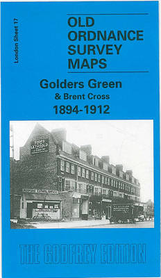 Golders Green and Brent Cross 1894-1912: London Sheet 017.3 - Old O.S. Maps of London (Sheet map, folded)