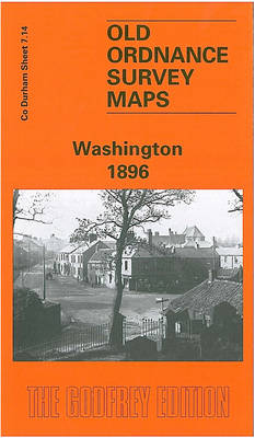 Washington 1896: Durham Sheet 7.14 - Old Ordnance Survey Maps of County Durham (Sheet map, folded)