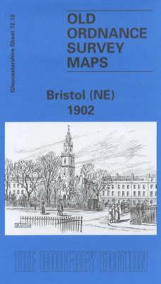 Bristol (NE) 1902: Gloucestershire Sheet 72.13 - Old O.S. Maps of Gloucestershire (Sheet map, folded)