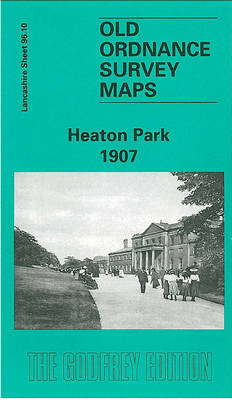 Heaton Park 1907: Lancashire Sheet 96.10 - Old O.S. Maps of Lancashire (Sheet map, folded)