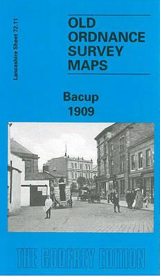 Bacup 1909: Lancashire Sheet 72.11 - Old O.S. Maps of Lancashire (Sheet map, folded)