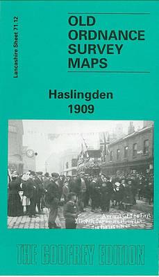 Haslingden 1909: Lancashire Sheet 71.12 - Old O.S. Maps of Lancashire (Sheet map, folded)