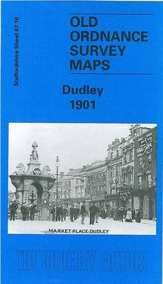 Dudley 1901: Staffordshire Sheet 67.16 - Old O.S. Maps of Staffordshire (Sheet map, folded)