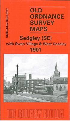Sedgley (SE) with Swan Village and West Coseley 1901: Staffordshire Sheet 1901 - Old O.S. Maps of Staffordshire (Sheet map, folded)
