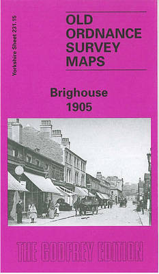 Brighouse 1905: Yorkshire Sheet 231.15 - Old O.S. Maps of Yorkshire (Sheet map, folded)