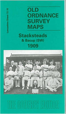 Stackfords and Bacup (SW) 1909: Lancashire Sheet 72.15 - Old O.S. Maps of Lancashire (Sheet map, folded)