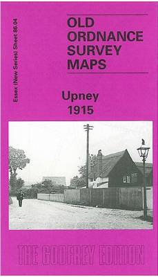 Upney 1915: Essex Sheet 86.04a - Old O.S. Maps of Essex (Sheet map, folded)