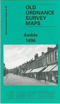 Amble 1896: Northumberland Sheet 46.04 - Old O.S. Maps of Northumberland (Sheet map, folded)