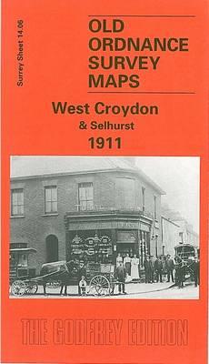 West Croydon and Selhurst 1911: Surrey Sheet 14.06 - Old Ordnance Survey Maps of Surrey (Sheet map, folded)