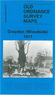 Croydon (Woodside) 1911: Surrey Sheet 14.07 - Old Ordnance Survey Maps of Surrey (Sheet map, folded)