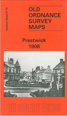 Prestwick 1908: Ayrshire Sheet 27.14 - Old O.S. Maps of Ayrshire (Sheet map, folded)