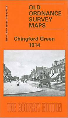Chingford Green 1914: Essex Sheet 69.09 - Old O.S. Maps of Essex (Sheet map, folded)