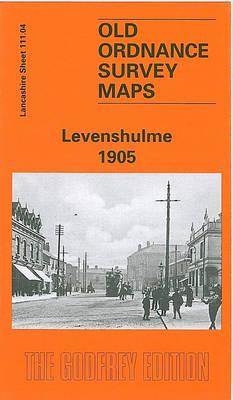 Levenshulme 1905: Lancashire Sheet 111.04 - Old O.S. Maps of Lancashire (Sheet map, folded)