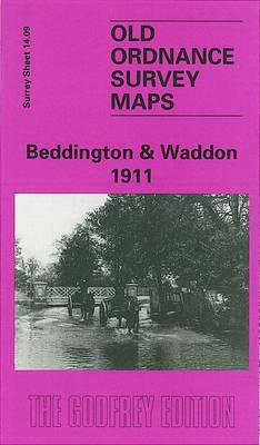 Beddington and Waddon 1911: Surrey Sheet 14.09 - Old Ordnance Survey Maps of Surrey (Sheet map, folded)