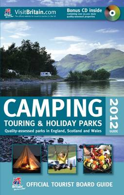 VisitBritain Official Tourist Board Guide - Camping, Touring & Holiday Guide 2012 (Paperback)