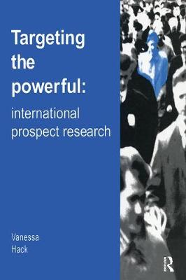 Targeting the Powerful: International Prospect Research (Paperback)