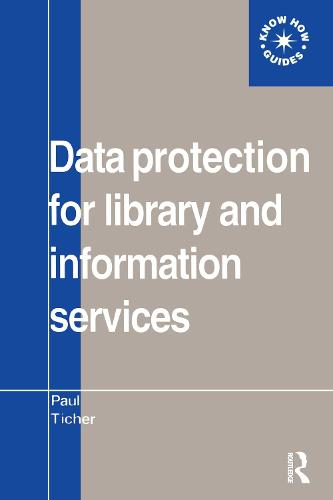 Data Protection for Library and Information Services (Paperback)