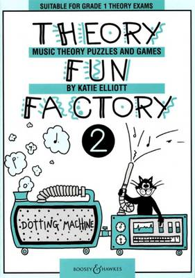 Theory Fun Factory 2: Music Theory Puzzles and Games (Paperback)