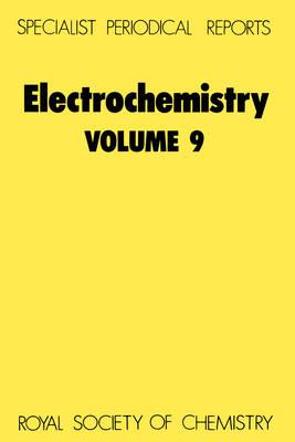 Electrochemistry, Vol 8 (Hardback)