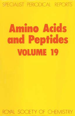 Amino Acids & Peptides (Hardback)