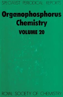 Organophosphorus Chemistry (Hardback)