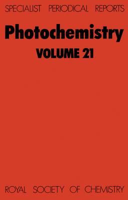 Photochemistry: Volume 23 - Specialist Periodical Reports (Hardback)