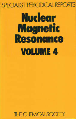 Nuclear Magnetic Resonance (Hardback)