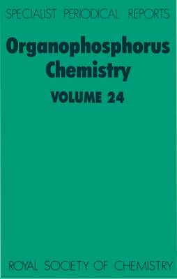 Organophosphorus Chemistry: Volume 22 - Specialist Periodical Reports (Hardback)