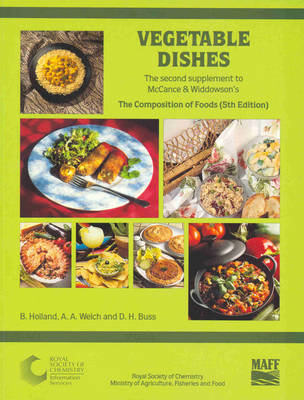 Vegetable Dishes: Supplement to The Composition of Foods (Paperback)