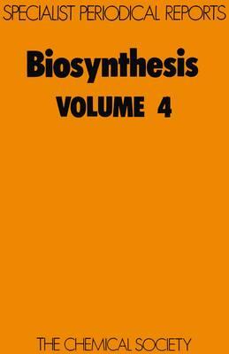 Biosynthesis, Vol 6 (Hardback)