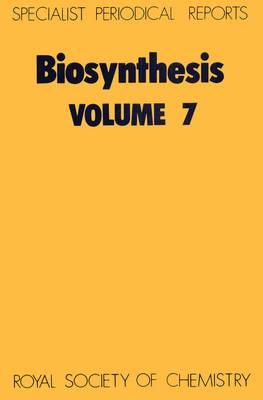 Biosynthesis, Vol 7 (Hardback)