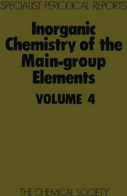 Inorganic Chemistry of the Main Group Elmts (Hardback)