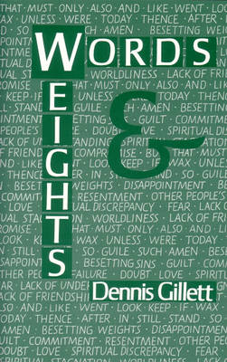 Words and Weights (Paperback)