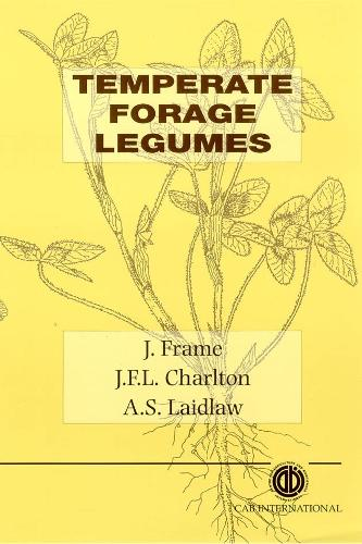 Temperate Forage Legumes (Hardback)