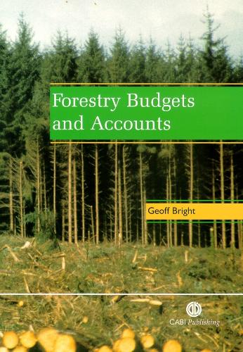 Forestry Budgets and Accounts (Paperback)