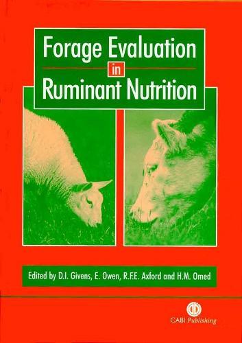 Forage Evaluation in Ruminant Nutrition (Hardback)
