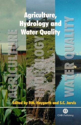 Agriculture, Hydrology and Water Quality (Hardback)