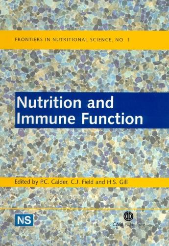 Nutrition and Immune Function - Frontiers in Nutritional Science (Hardback)