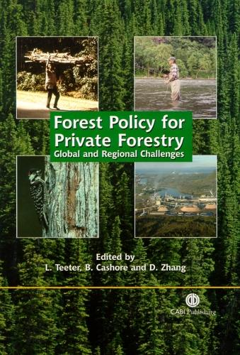 Forest Policy for Private Forestry (Hardback)