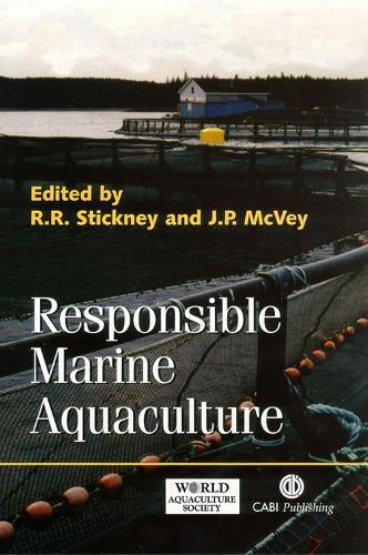 Responsible Marine Aquaculture (Hardback)