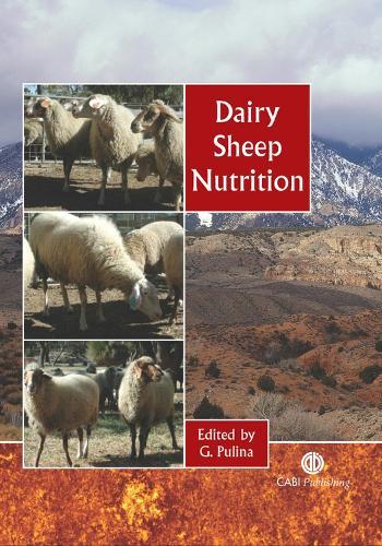 Dairy Sheep Nutrition (Hardback)