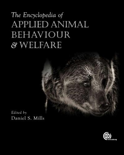 Encyclopedia of Applied Animal Behaviour and Welf (Hardback)